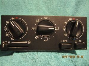 SHIPS SAME DAY! Volvo 9166550 Climate Control Module Auto Temperature Control