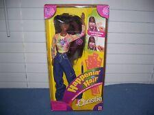 1998 African American Happenin Hair Christie Barbie Doll