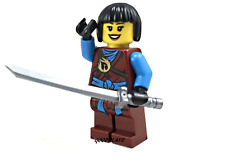 2017 LEGO Ninjago nya Ninja miniFigure with gray sword weapon new minifig