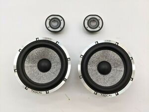 """Focal Utopia Be 165W-RC 6-1/2"""" Component  Speaker Active System (No Crossovers)"""