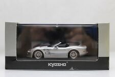 Kyosho Shelby Series 1 Silver/Red Scale Model Car 03131SR New in Box