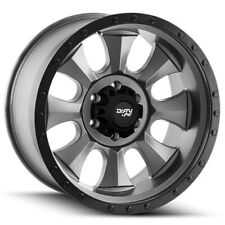 "Dirty Life 9300 Ironman 18x9 5x5.5"" -12mm Gunmetal/Black Wheel Rim 18"" Inch"