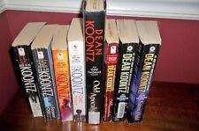 Lot 8 Books Dean Koontz Complete Odd Thomas Series Saint Odd Interlude Hours