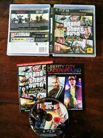 Grand Theft Auto Episodes From Liberty City Ps3 Perfetta Edz ITA Guida & Manuale