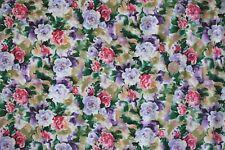 Celestial Garden Flower Fabric fq 50 x 56 cm 100% Cotton F219-1 Fabric Freedom