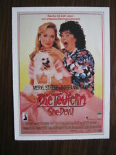 Filmplakatkarte / moviepostercard  cinema Die Teufelin - She-Devil  Meryl Streep