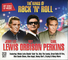 MY KIND OF MUSIC - THE KINGS OF ROCK 'N' ROLL - 2 CD BOX SET, ROY ORBISON & MORE