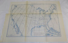 1890 Coast & Geodetic Survey Map/MAGNETIC MERIDIANS OF UNITED STATES FOR JANUARY