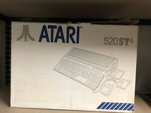 Atari 520 STE Computer in Original Box