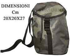 borsa mimetica porta accessori cartucce munizioni caccia pesca spinning softair
