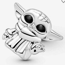 NEW 100% PANDORA Star Wars The Child Mandalorian Yoda Charm Pendant 799253C01