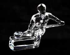 Orrefors Glass (Sweden) Craftsmen Series Founder Figurine by Olle Alberius
