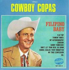 Brand New CD ~~ Fillipino Baby ~~ Cowboy Copas ~~ Great Gift ~ NEW In Shrinkwrap