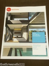 AJ SPECIFICATION - DOORS & WINDOWS - SEPT 2012