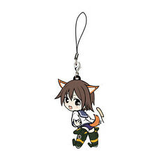 Strike Witches Yoshika Miyafuji Rubber Cell Phone Strap Licensed NEW