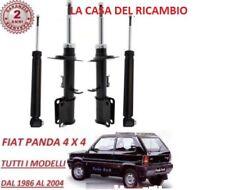 4 AMMORTIZZATORI ANTERIORI+POSTERIORI FIAT PANDA 4X4 (141A) 1000 1100 (1986-2004