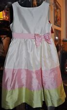 GYMBOREE BEAUTIFUL DRESS SIZE 8 AND 9 NWT HAPPY RAINBOW DRESSY EASTER SPRING!