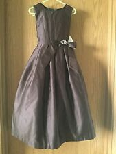 Us Angels Usangels Style BroWn Flower Girl Dress Size 5