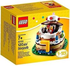 Lego Birthday Cake Topper Centerpiece With Jester 120 Pcs Minifigure 40153 New G