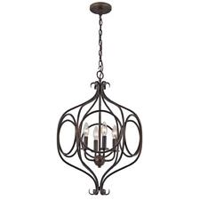Casitas 4-Light Rubbed Oil Bronze Pendant