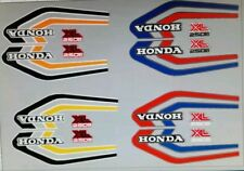 HONDA XL250S DECAL KIT
