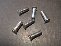 10 pcs front door vent window division bar stainless screws 1942-1950 Plymouth