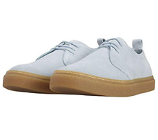 Fred Perry Linden Suede Shoes/Blue Haze - 12 CLEARANCE WAS £80.00