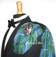Kilt Fly Plaid nell'Antico Douglas Tartan con frange MADE IN SCOTLAND kiltwear Kilt