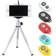 New Tripod Holder+Bluetooth Selfie Remote Shutter For iPhone 6S 6/7 Plus Samsung