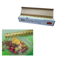 Kitchen Roll Catering Cling Film Food Baking Wrapping 450mm x 300m Cutter UKES