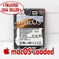 "Macbook Pro Hard Drive Yosemite 10.10 OS 500GB 2.5"" 2008 2009 2010 A1278 A1286"
