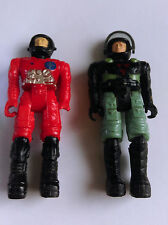 Vintage 1980's Starcom Figures - LT. VASOR and PFC. SHAWN REED