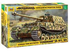 """Zvezda 1/35 """"Ferdinand"""" Sd.Kfz.184 German Tank Destroyer # 3653"""