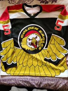 minor league hockey jersey Salt Lake Golden Eagles