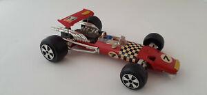 Vintage Die Cast Ferrari Racing Car #7509 (possibly the '69 Ferrari 312 F-1)