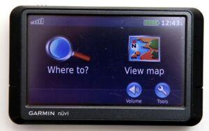 Garmin Nuvi 255W Car GPS Navigation 2020 USA, CAN, Middle East South Africa Maps