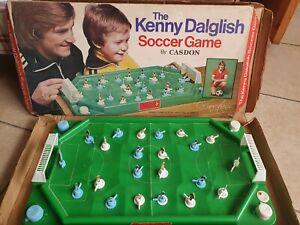 Casdon Soccer Kenny Dalglish  Liverpool Vintage Table Football Game 1970's
