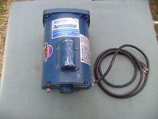 Used !!!  Mueller Pump Aermotor 1/2 HP Franklin Electric Water Pump Motor