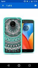 For Motorola Moto E4 Plus (E Plus 4th Gen) Case Hard Back Bumper Slim Cover