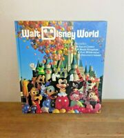 Vintage 1987 Walt Disney World Souvenir Hardcover Book Epcot Magic Kingdom