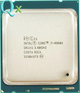 Intel Core i7-4960X Processor CPU QS Extreme 3.6GHz Six Core LGA 2011 130W