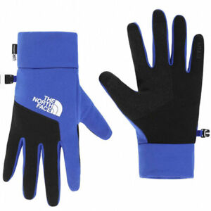 The North Face Etip Gloves Blue/Black Size Small