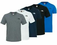 The North Face Mens  Short Sleeve Tee Cotton T Shirt Crew Neck-Dome