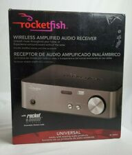 New! Rocketfish Wireless Amplified Audio Receiver Rf-Rbrec Hd Audio System