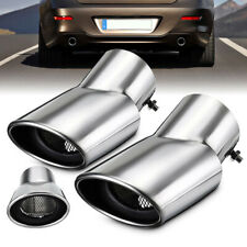 2x Stainless Steel Exhaust Muffler Tail Pipe Fit For Honda CR-V CRV 2017-2018