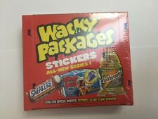 Wacky Packages Packs All-New Series 1 ANS1 Sealed Box - 24 Packs