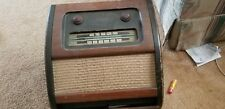 Vintage Philco Wood Tube Radio & Pop out  Record Player Model # 10664b rare