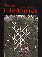 Helrunar: A Manual of Rune Magick New Paperback Book Jan Fries