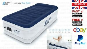 AIR BED WITH A BUILT-IN ELECTRIC PUMP AND PILLOW *ACTIVE ERA LUXURY SINGLE SIZE*