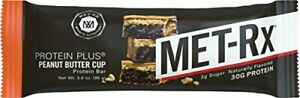 MET-Rx Protein Plus Bar Gluten Free Peanut Butter Cup (9 Count)